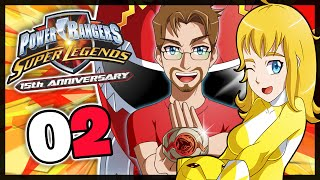 POWER RANGER SUPER LEGENDS Part 2 Lost Galaxy co-op