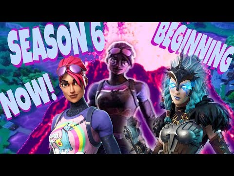Fortnite - SEASON 6 BEGINNING SOON! Pc Mobile Nintendo Xbox
