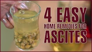 4 Effective Home Remedies For ASCITES TREATMENT