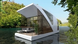 Modern Catamaran Houseboat