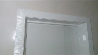 видео межкомнатные глянцевые двери
