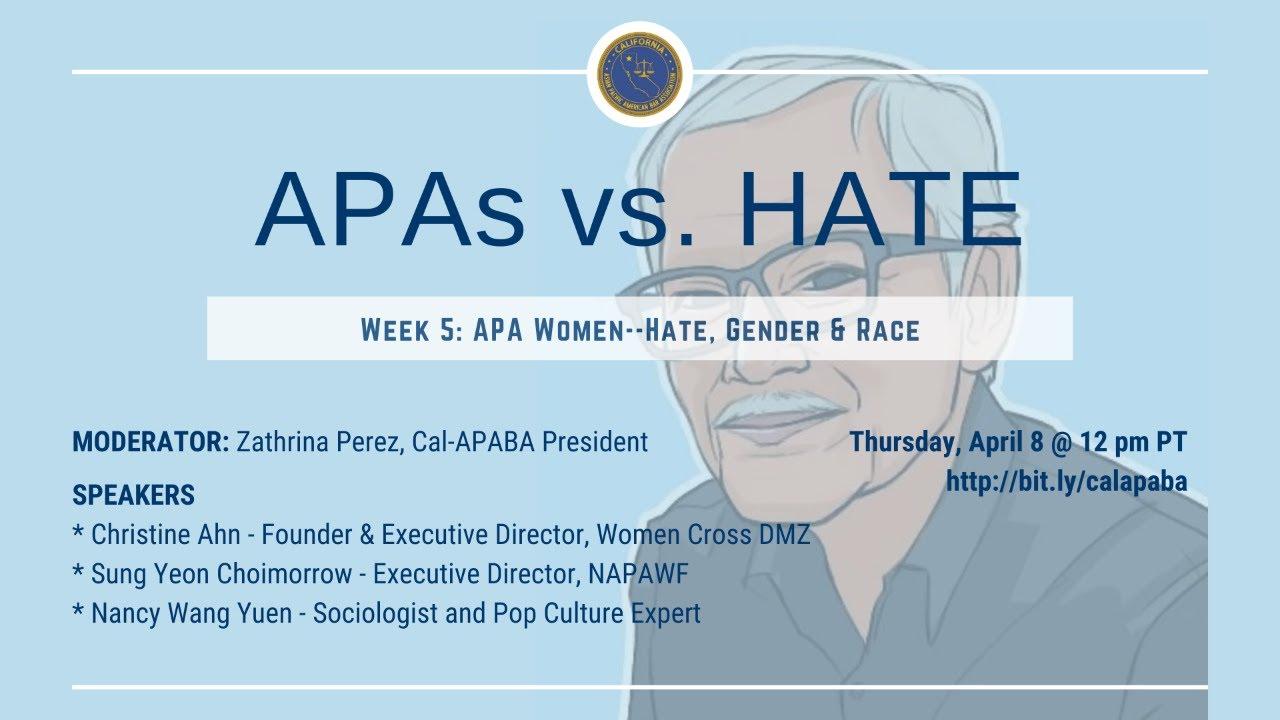 Week 5: APA Women--Hate, Gender & Race