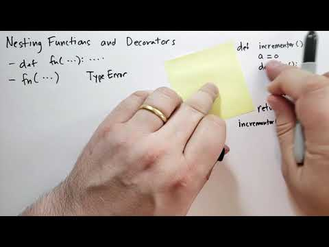 Nesting Functions and Decorators (1/2) (Theory of Python) (Python Tutorial) thumbnail