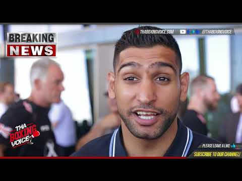 Amir Khan: Kell Brook Needs This TuneUp After Being Smashed Up Twice, Khan vs Brook Can Happen