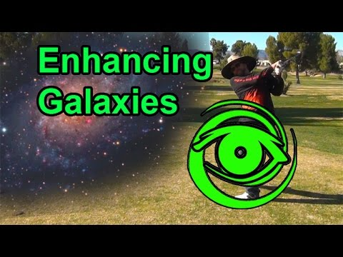 Enhancing Galaxies With Photoshop