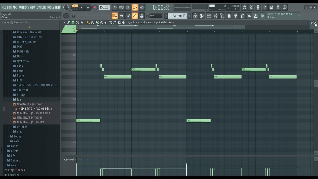 "How to make beats - Fl Studio TUTORIAL Hard / Dark Trap Beat ""Legacy"" | ARCADE & HEAT UP 3"