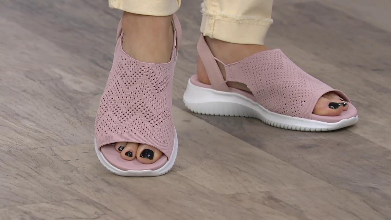 Skechers Engineered Knit Sling Back