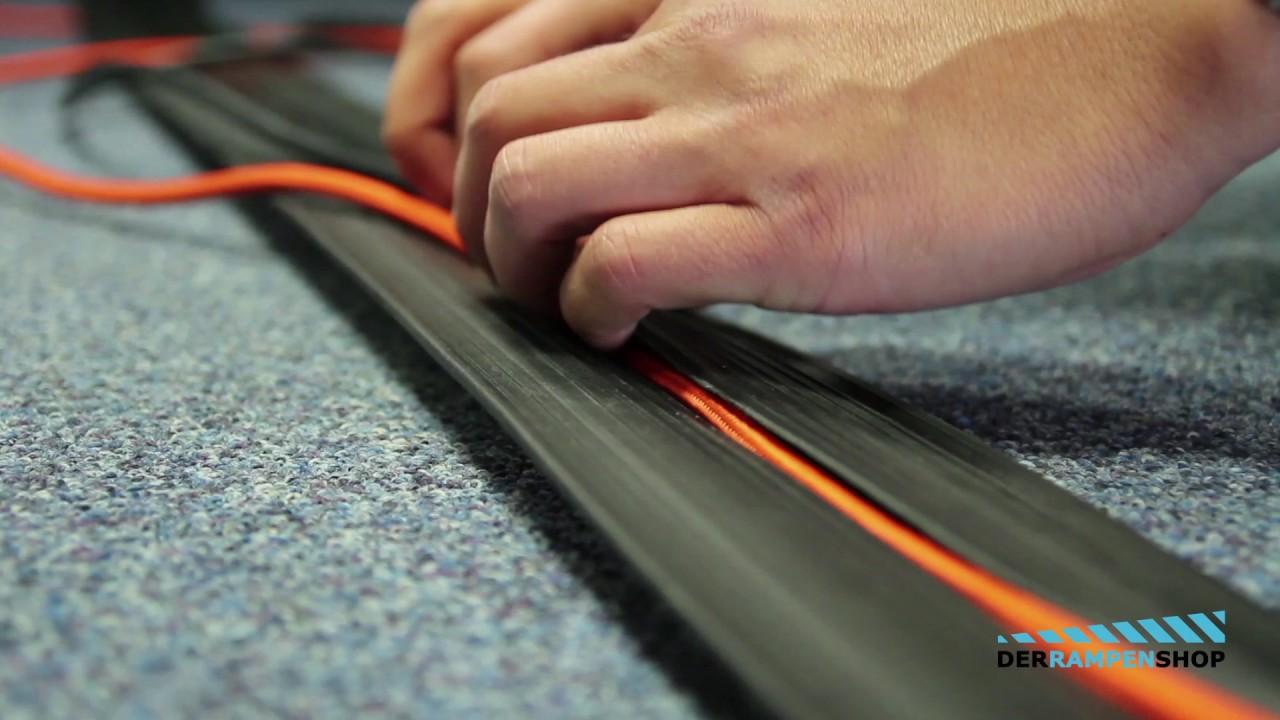 Fußboden Kabelkanal Weiß ~ Kabelkanal boden kabelkanal schwarz kunststoff von kunststoff