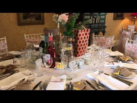 Leighton Hall, Lancashire - Wedding Breakfast