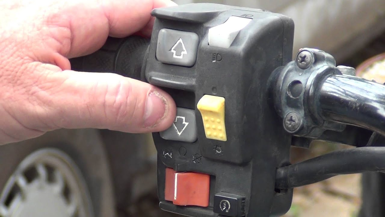 Hondas Electronic Shift Program Es Thumb Shift On My Honda Rancher Atv Youtube