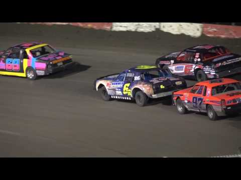 Beatrice Speedway, June 9, 2017. Hobby Stock A-Main Feature