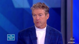 Rand Paul Discusses Withdrawal of U.S. Troops from Syria | The View