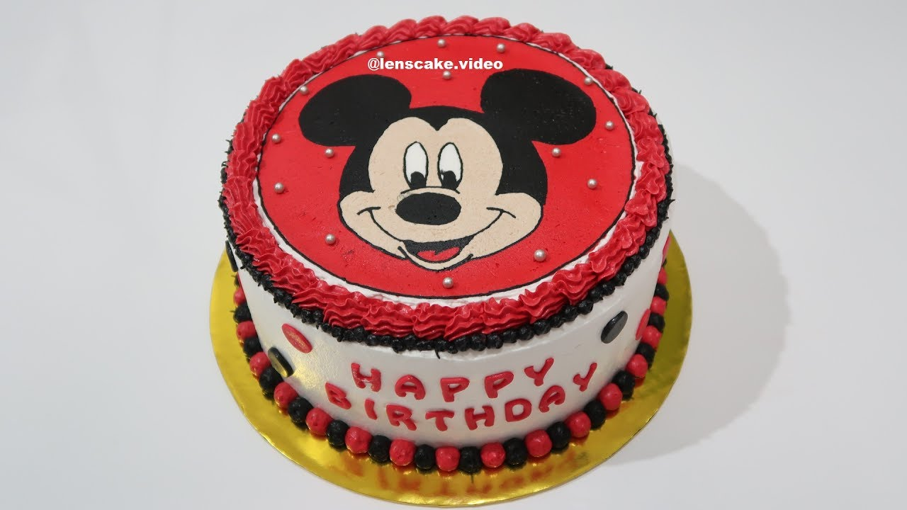 Make A Minnie Mouse Cake Recipe