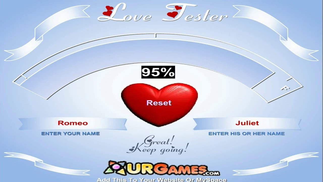 Uncategorized Love Tester Deluxe love tester game test your meter youtube