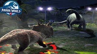 Jurassic World Alive Android Gameplay NEW ARENA UNLOCKED NUBLAR JUNGLE