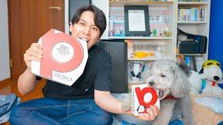 【生配信】15万人突破記念で愛犬とピザパーティでお祝いだぁ!