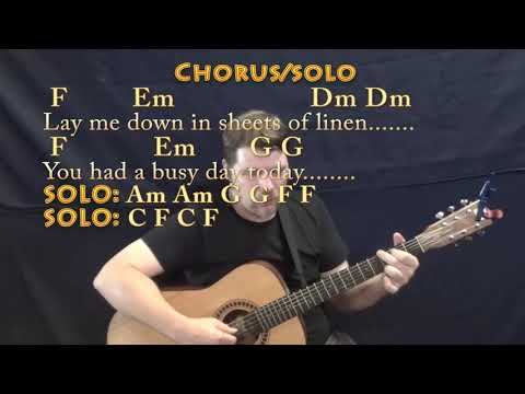 Tiny Dancer (Elton John) Fingerstyle Guitar Cover Lesson with Chords ...