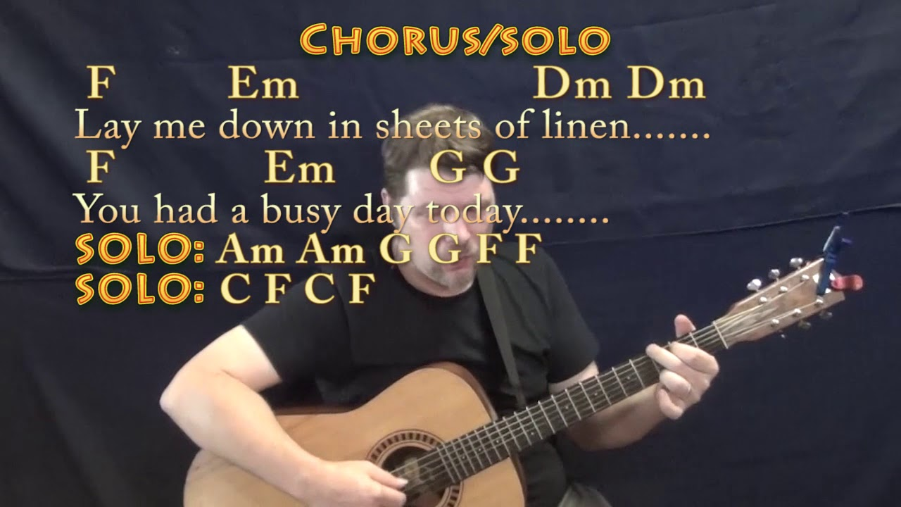 how to play tiny dancer on guitar