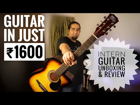 Intern Acoustic Guitar Unboxing ,Review And Sound Test | Is it really worth the price??
