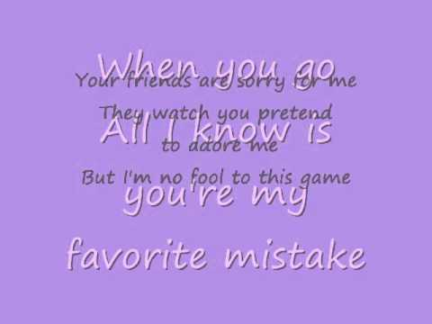 Sheryl Crow- You're My Favorite Mistake-lyrics