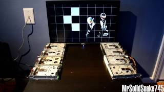 Daft Punk - Aerodynamic on eight floppy drives