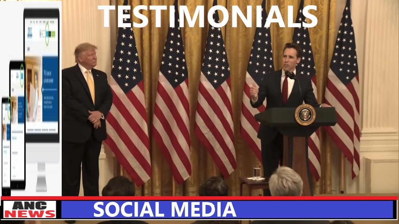 TRUMP Testimonials Social Media Free Speech and Censorship
