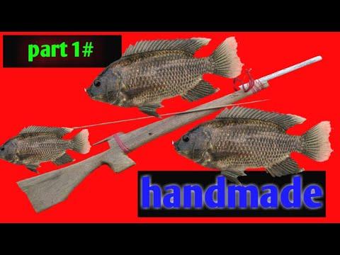 Cara Membuat Senapan Ikan Sederhana Menggunakan Kayu Youtube