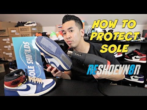 HOW TO PROTECT JORDAN 1 SOLE | ARE SOLE PROTECTOR WORTH IT ?? @RESHOEVN8ER