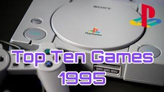 Top 10 Playstation 1 (PS1) Games 1995