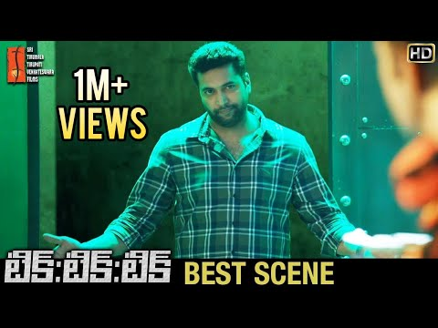 TIK TIK TIK Movie Best Scenes | Jayam Ravi Shocks with his Skills | Nivetha Pethuraj | STTV Films