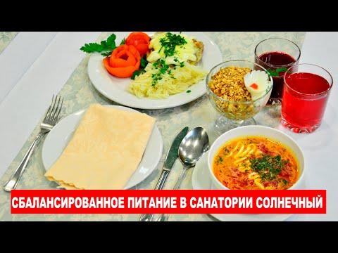 """Питание отдыхающих санатория """"Солнечного"""""""