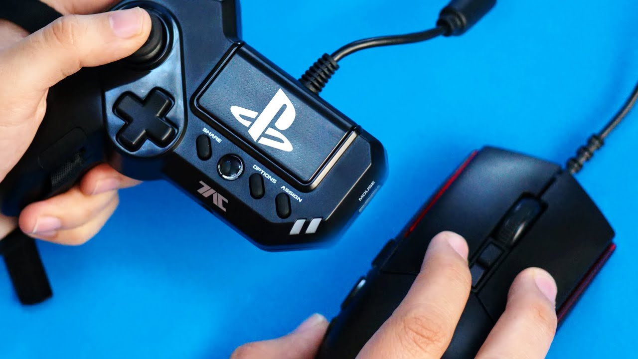 The PS4 Mouse Controller