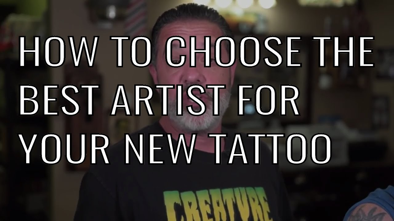How to Choose The Best Tattoo Artist for Your Tattoo ...
