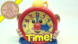 Bright Kingdom Musical Talking Teaching Toy Alphabet Clock, 5n1hg11