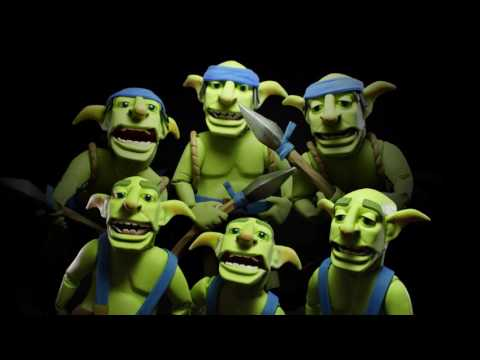Clash Royale: The Goblin Gang SERENADE! (New Card!)