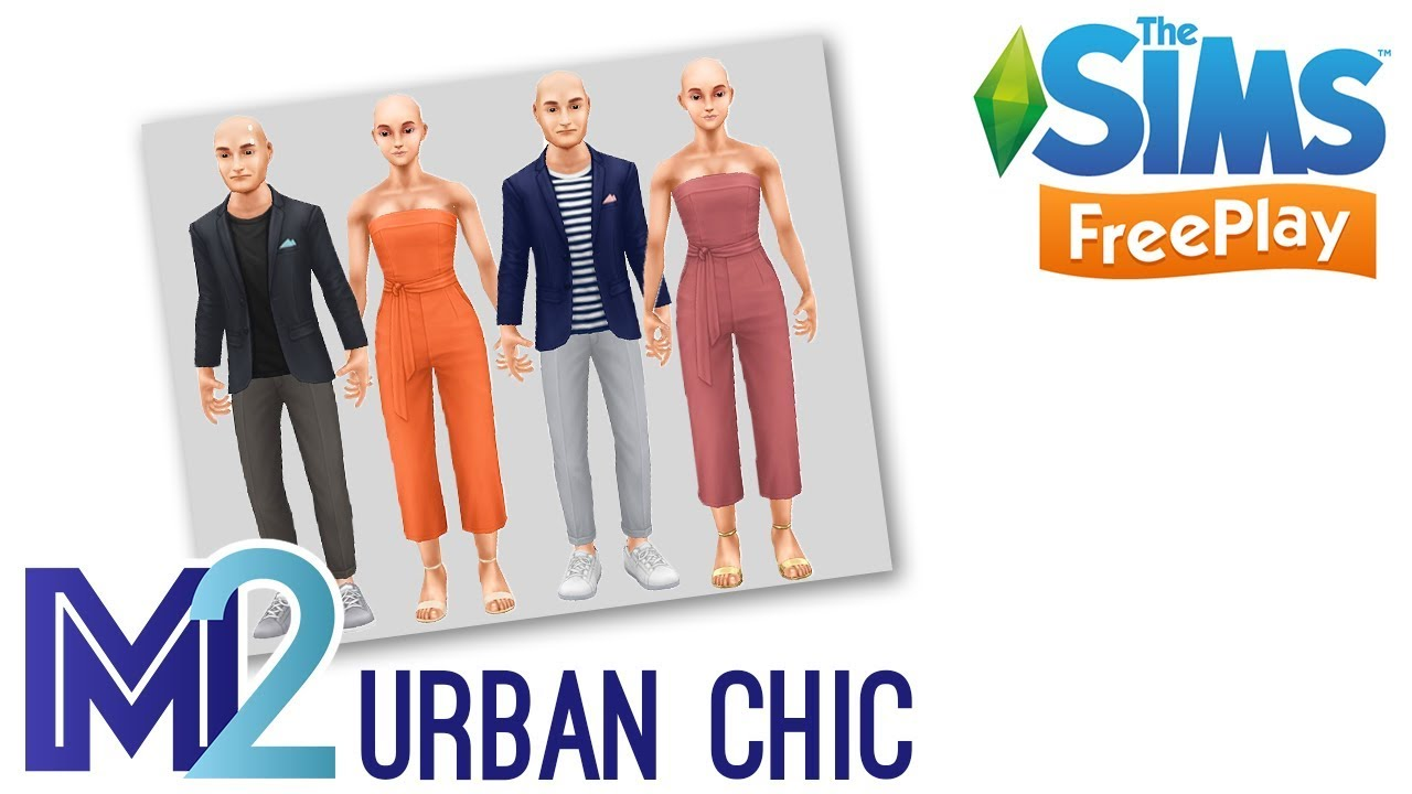 Sims Freeplay Urban Chic Event Early Access Youtube