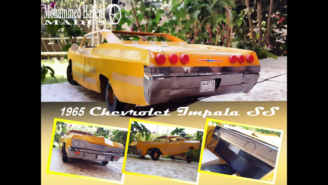 Papercraft 1965 Chevrolet Impala SS Lowrider Hopping by ...