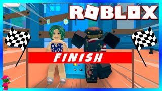 WIN THE RACE OR GET A MAKEOVER!!! (Roblox Escape The Car Wash Obby)