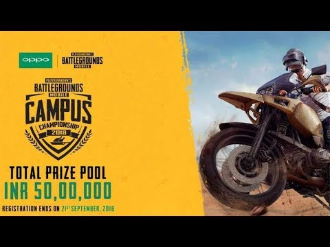 Pubg Mobile Official Campus Championship Match 2018 Powered By Oppo | Roasting Guru
