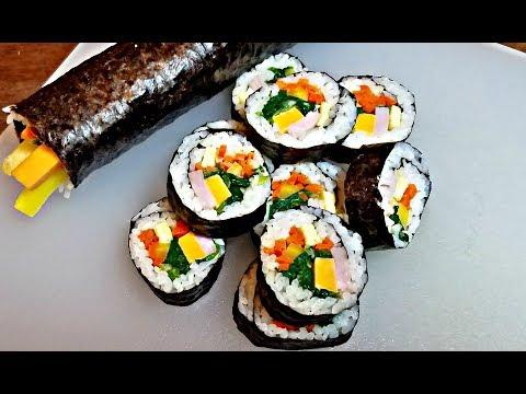 How to make Kimbap (Gimbap) | Lunch Box Ideas | Kimbap recipe