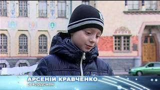 Арсеній Кравченко  складає пірамідку Мефферта всього за 9 секунд