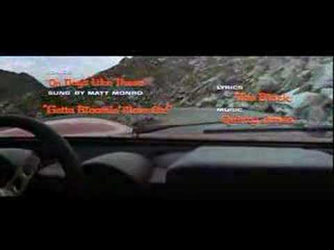 Lamborghini Miura The Italian Job Intro Youtube