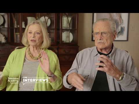 Bonnie Bartlett and William Daniels on acting together for the first time in college