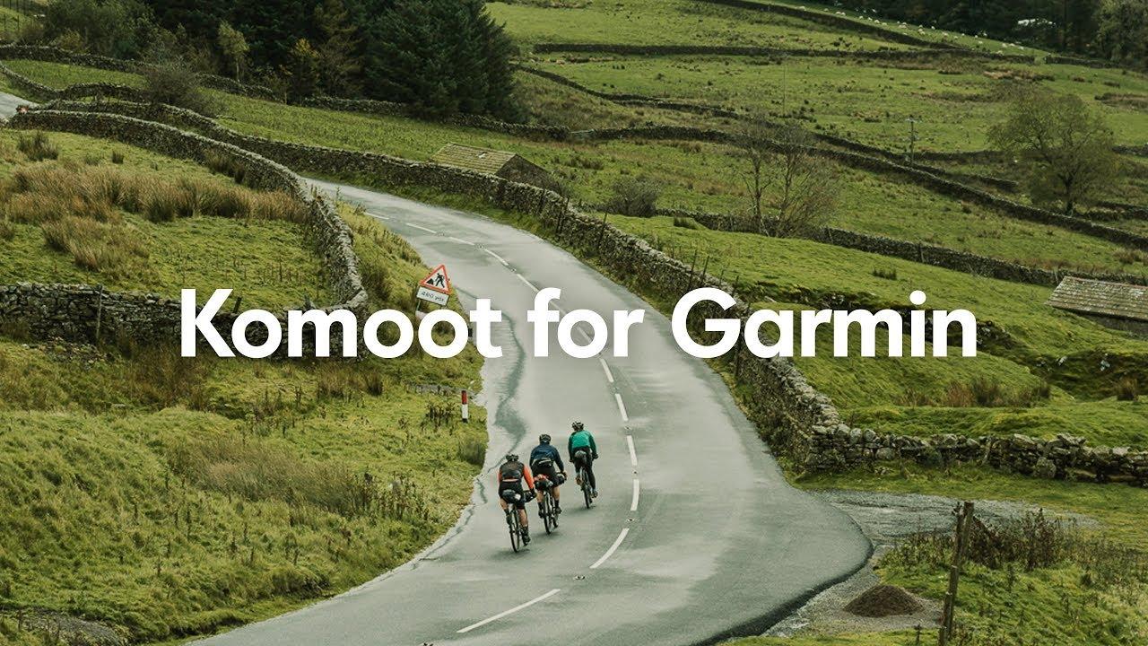 Use Komoot on your Garmin | Garmin Connect and Komoot