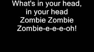 Cranberries Zombie with lyrics