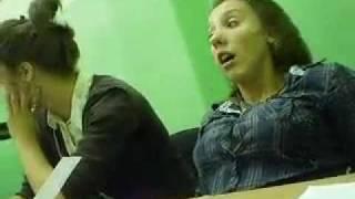 Студентка спать хочет
