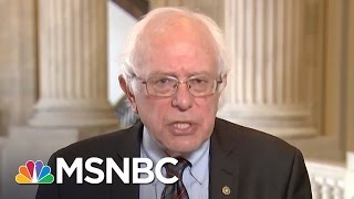 Bernie Sanders To President Trump: Climate Change Is Real | Morning Joe | MSNBC