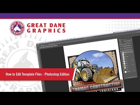 How To Edit Template Files - Photoshop® Software Edition