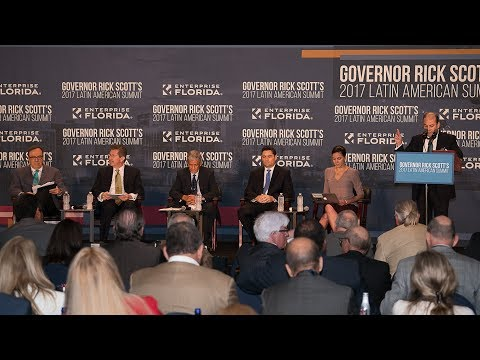 "(COMPLETO) Panel ""Human Rights in the Americas"" - Governor Rick Scott's 2017 Latin American Summit"