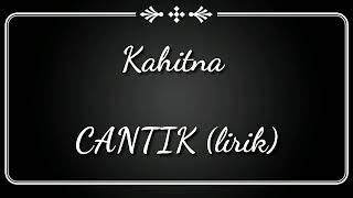 Download Mp3 Cantik Kahitna  Cover Lirik